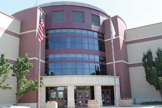 The McHenry County Government Center in Woodstock, home to Illinois' 22nd Judicial Circuit Court.