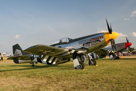 "A federal appeals panel has affirmed the dismissal of claims brought by Richard Vartanian to reclaim this P-51D Mustang WWII-era fighter plane, ""Geraldine,"" pictured at the 2008 EAA AirVenture in Oshkosh, Wis. Vartanian bought a Mustang from the Canadian military in the 1960s, and his plane went missing from a New York hanger in the '70s or '80s. He alleged this plane is the one that was stolen and later sold to its current owners. In November 2017, a trial judge ruled the statute of limitations ran out on the claims."