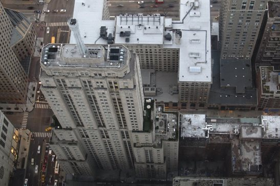 The Palmolive Building in 2013 as seen from the 360 Chicago observation deck. A dispute between a contractor and subcontractor has drawn out so long that a judge awarded $3.6 million in attorney fees, a far larger amount than the damages awarded.