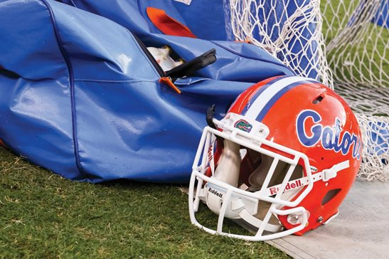 A federal judge in Chicago has dismissed the Southeastern Conference from a proposed class-action suit brought by former University of Florida athletes who allege the conference and the NCAA didn't adequately protect them from brain injuries. The case was originally filed in Indianapolis, where the NCAA is based, but later moved to Chicago.
