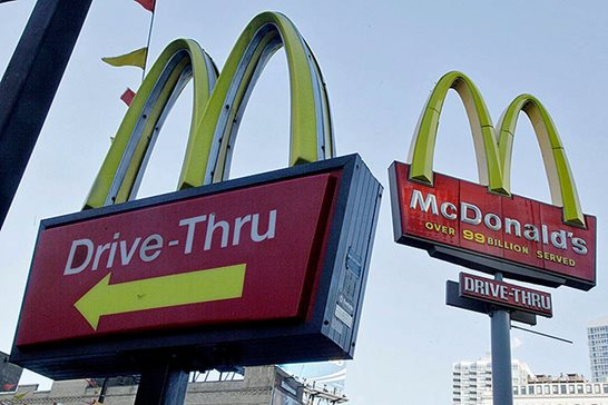 In a written opinion this week, a Chicago federal judge dismissed a proposed class-action suit alleging McDonald's restaurants' refusal to serve pedestrian customers through its drive-thru windows violates the Americans with Disabilities Act. AP Photo/Richard Drew, File
