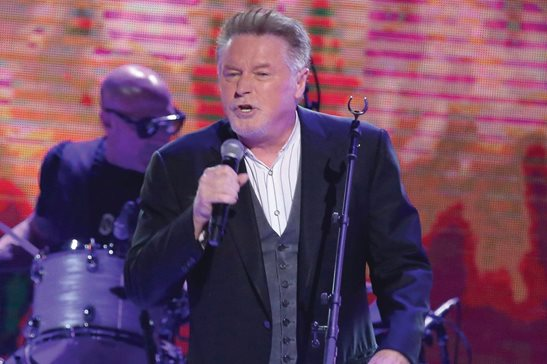 "Don Henley performing in Nashville, Tenn., in 2017. Henley is urging Congress to ""Take It to the Limit"" to protect artists against online pirating. He's wading into a copyright fight pitting Hollywood and the recording industry against big tech platforms like Google's YouTube."