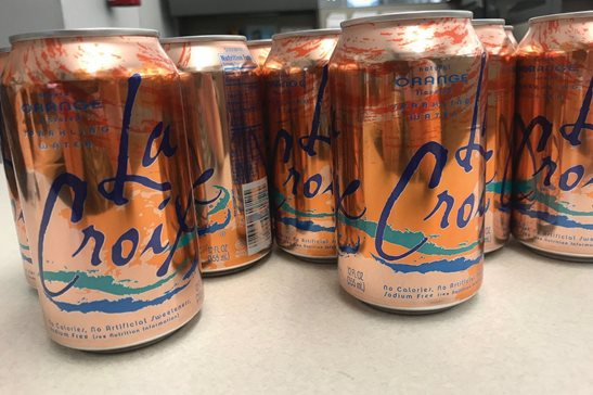 "Cans of LaCroix flavored sparkling water. Last week, a federal judge in Chicago ruled the company that makes LaCroix failed to substantiate claims it made in a motion for sanctions filed against a woman and her lawyers who contested LaCroix's ""all-natural"" branding in a proposed class-action lawsuit."