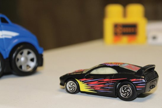 Toy cars are pictured. A Will County juror brought toy cars to court to recreate a three-car Interstate 55 crash during deliberations in a civil trial. The plaintiff forfeited the issue on appeal by not objecting to the trial moving forward with the cars confiscated by the bailiff, a state appeals panel ruled.