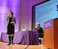 "Northwestern Pritzker School of Law professors Laura Hepokoski Nirider and Steven A. Drizin outline some of the realities and myths of false confessions at an event Wednesday in the school's Thorne Auditorium. Nirider and Drizin took up Wisconsin murder convict Brendan Dassey's case in 2007. Last year, the Netflix documentary series ""Making a Murderer"" featured footage of Dassey's conviction, setting off a national debate over the fairness of police questioning tactics used on the teenager."
