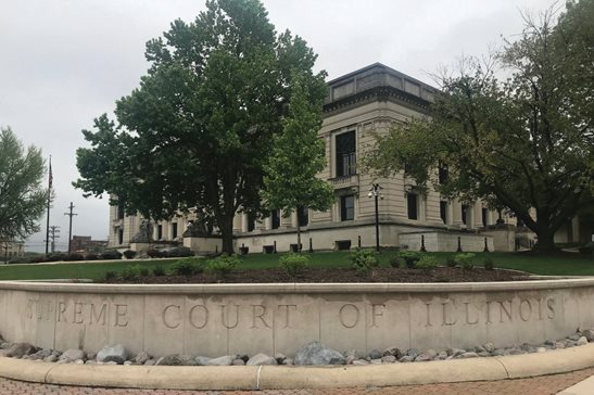 A May 2019 file photo of the Illinois Supreme Court in Springfield. Marc Karlinsky